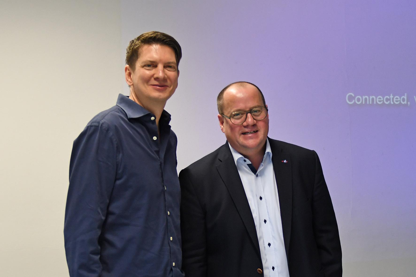 Prof. Daniel Braun und Prof. Dr. Björn Sellemann