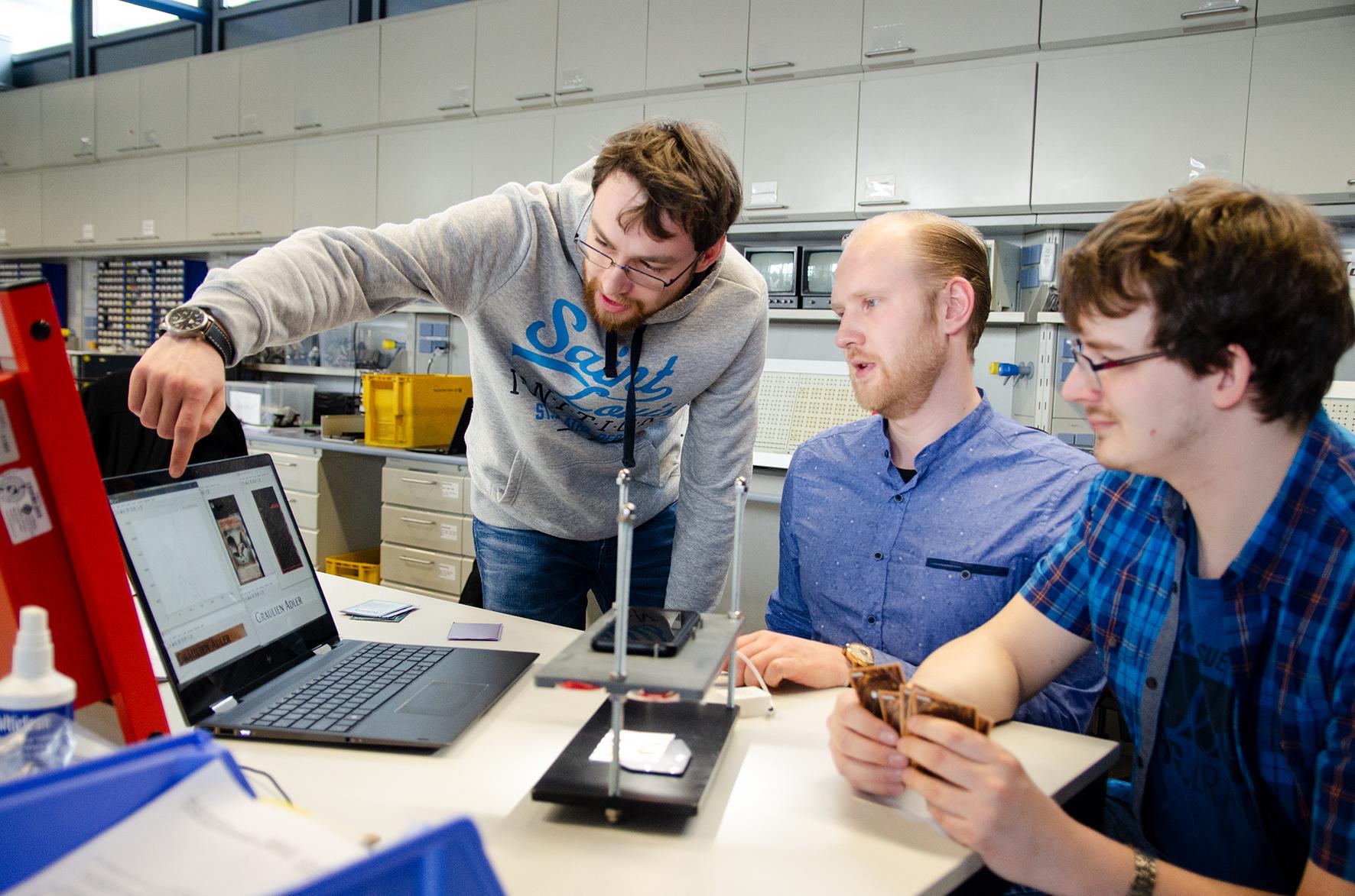 Adrian Schulz, Alexander Sundermeier und Christian Herrmann mit Apparat