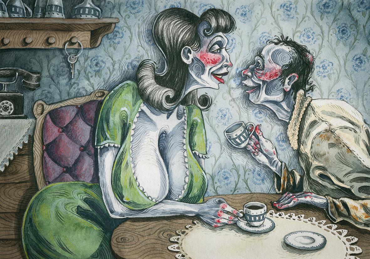 Illustration von Malika Specht
