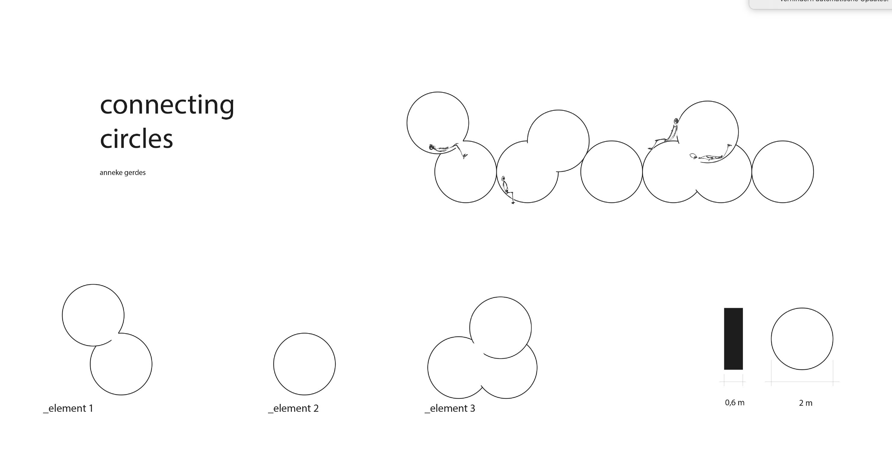 Connecting Circles-Grafik