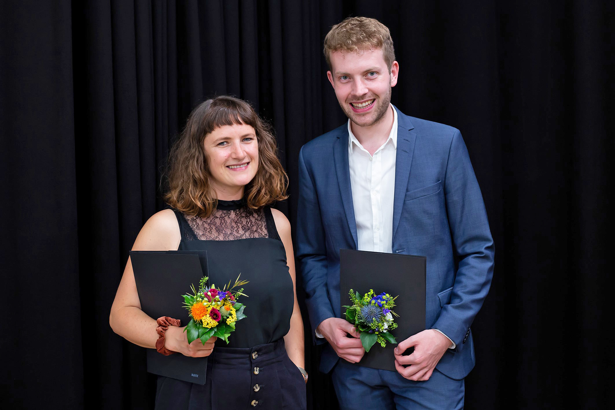 Sarah Spannruft und Tobias Titt