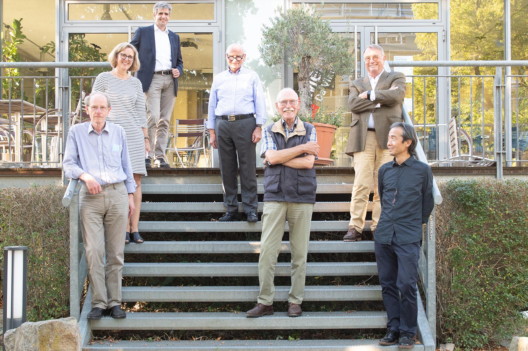 Jurymitglieder sowie Domfreund Peter Glahn und Prof. Kazu Hanada