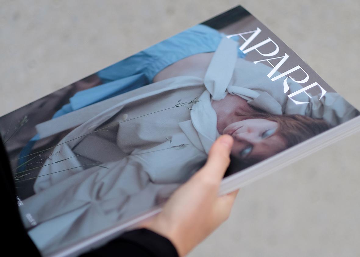 Titelseite des Magazins