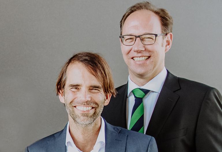 Prof. Dr. Ralf Ziegenbein und Prof. Dr. Carsten Feldmann