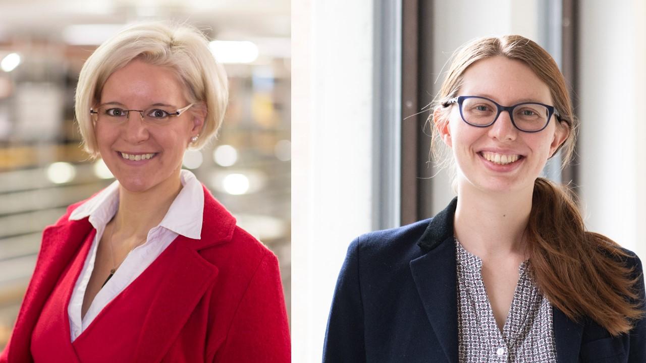 Prof. Dr. Anke Menzel-Begemann (l.) und Dr. Gesa Linnemann