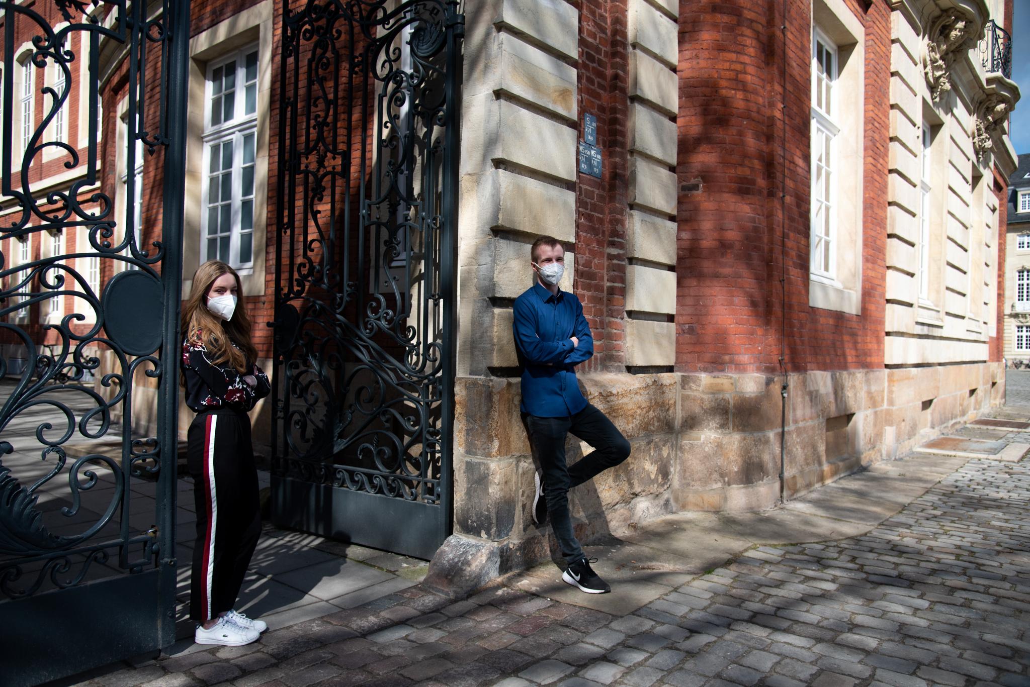 Martina Rothe und Alexander Beckmann