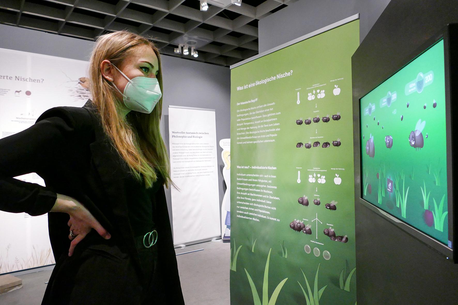 Designstudentin Helen Ophei