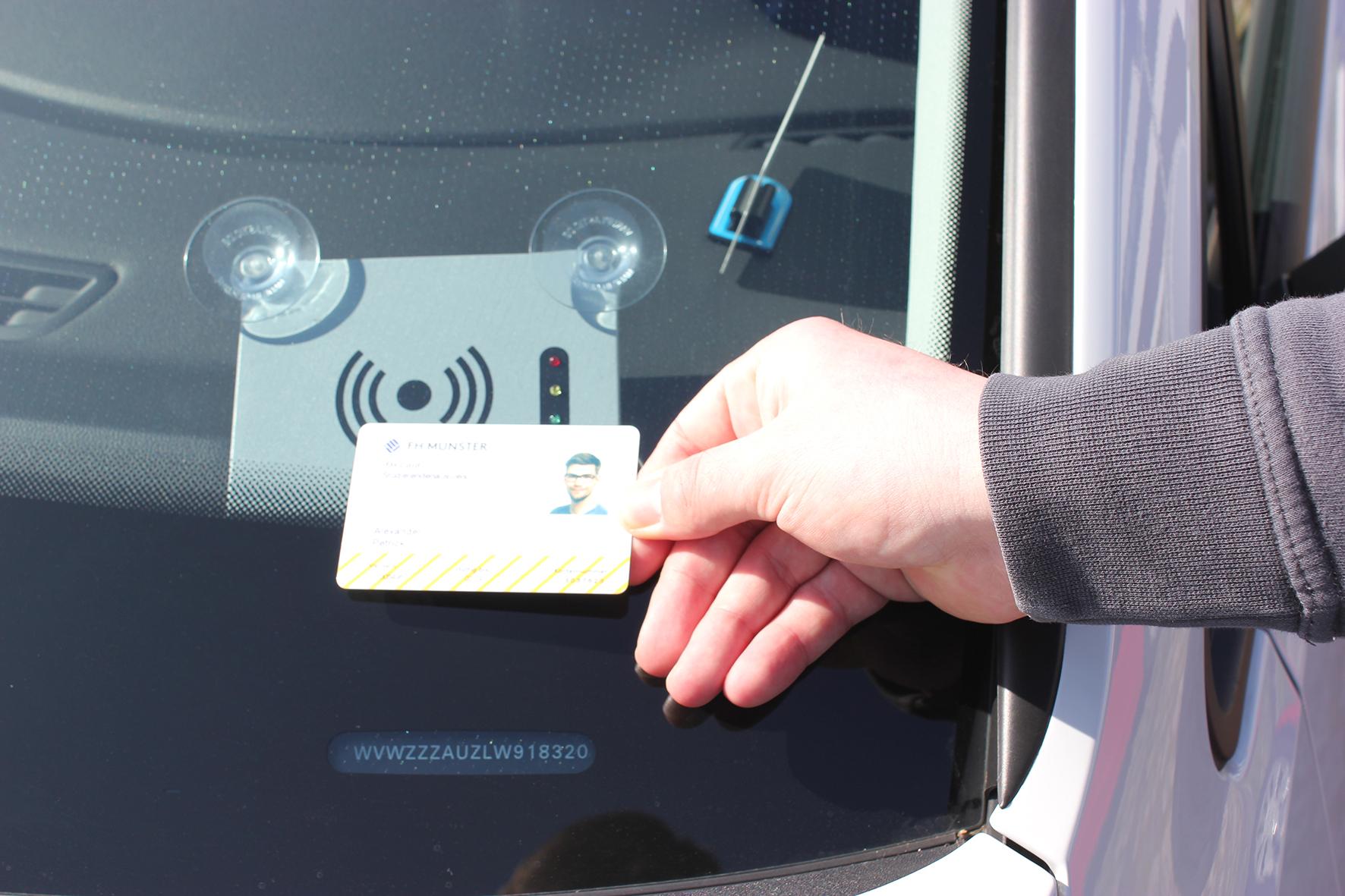 FH-Card am Auto