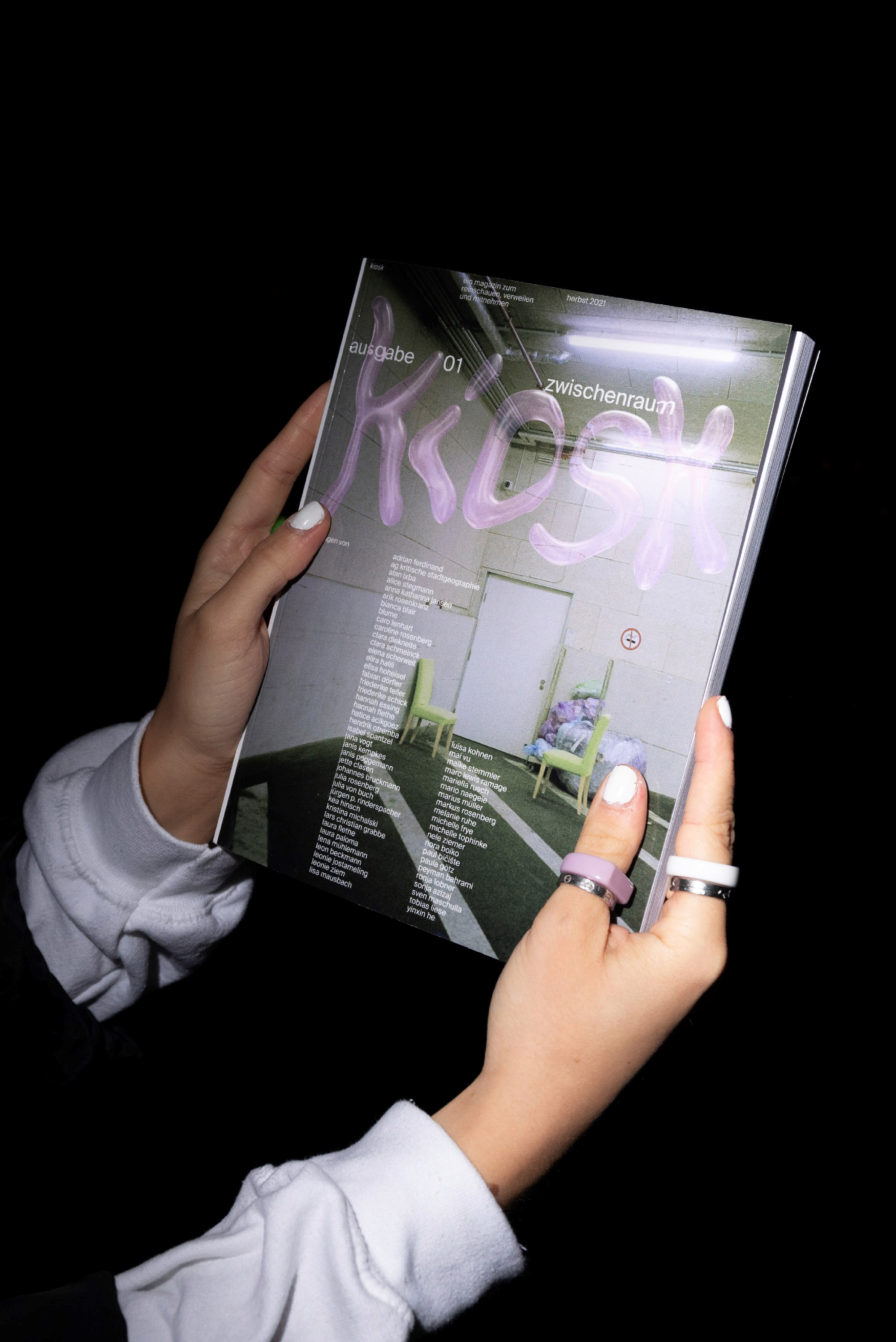 Cover kiosk Magazin
