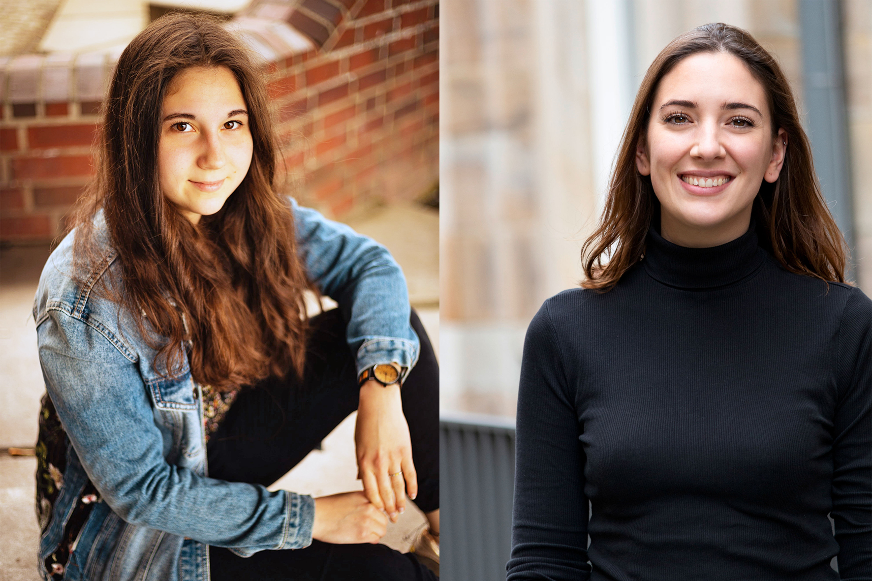 Farina Nagel und Kristina Scheld