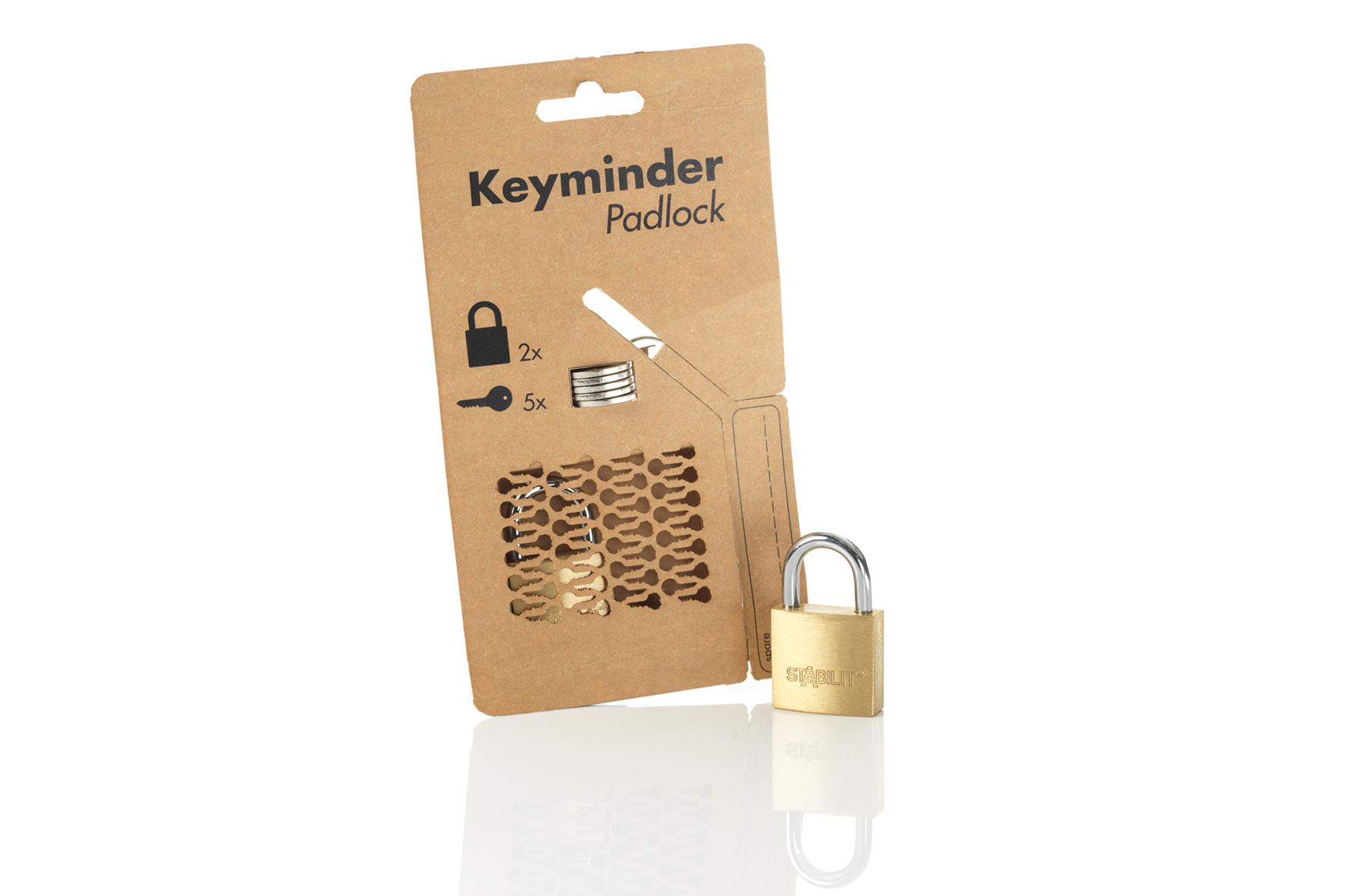 "Vorhängeschlossverpackung ""Keyminder"""